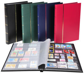 EXACOMPTA Album de timbres, 225 x 305 mm, 48 pages, noir