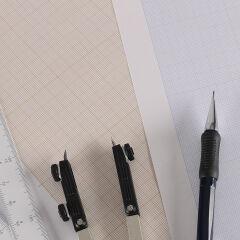 CANSON Papier millimétré, A4, 90 g/m2, PRIX CHOC