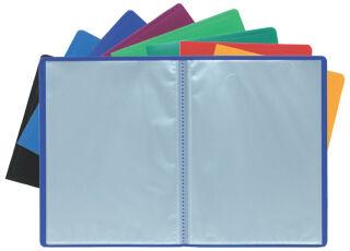 EXACOMPTA Protège-documents, PP, A4, 20 pochettes, assorti