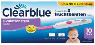 Clearblue Test d'ovulation DIGITAL, pack de 10