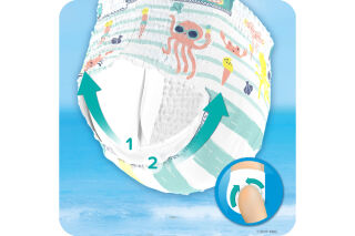 Pampers Couches-culottes de bain Splashers taille 3 - 4