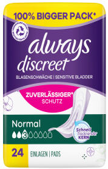 always discreet Serviette pour fuites urinaires Normal 12