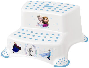 keeeper kids Marchepied igor 'Frozen', deux niveaux, blanc