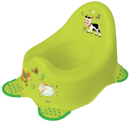 keeeper kids Pot pour bébé adam 'funny farm', vert