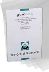 SCHÖLLERSHAMMER Bloc papier calque, A4, 80 g/m2