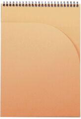 RHODIA Bloc spiralé Notepad, A4, quadrillé 5x5, noir