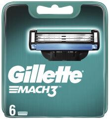 Gillette Lames de rechange Mach3, paquet de 6