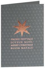 RÖMERTURM Carte de Noël 'Joyeux Noël'