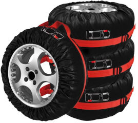 IWH Kit de housse pour pneus, 4 pièces