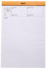 RHODIA Bloc agrafé 'FAX', format A4+, pré-imprimé, orange