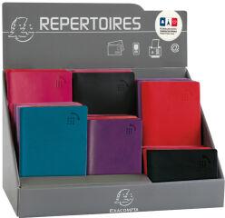 EXACOMPTA Répertoires de poche, présentoir de 26 pièces