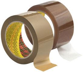3M Scotch Ruban adhésif pour emballage 3707, PP, brun