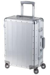 Alumaxx Trolley de voyage, en aluminium, argent mat
