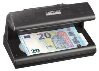 ratiotec Détecteur de faux billets 'Soldi 185', manuel, noir