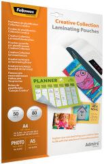 Fellowes Kit pochette à plastifier Easy Creative Collection