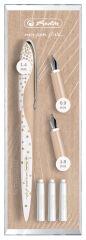 herlitz Kit de calligraphie my.pen Nicewriter 'Pure Glam'