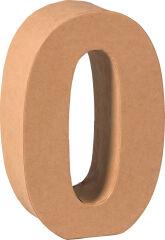 KNORR prandell Chiffre 3D '2', papier mâché, 175 x 55 mm
