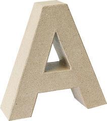 KNORR prandell Lettre 3D 'W', papier mâché, 175 x 55 mm
