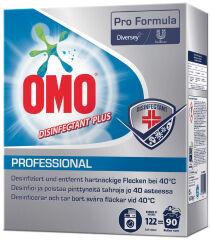 OMO Lessive en poudre Professionel Disinfectant, 90 lavages