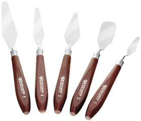 WESTCOTT Couteau à peindre, kit de 5 pièces