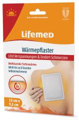 Lifemed Patch chauffant, 95 x 130 mm, blanc, pack de 2