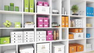 LEITZ Boîte de rangement Click & Store WOW Cube M, blanc