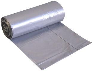 HYGOSTAR Sac poubelle, 60 l, 10 microns, transparent