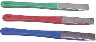 DMT Kit de limes plates diamant Dia-Sharp, kit de 3
