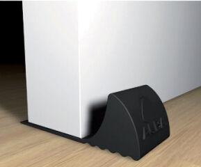 ALBA Bloque-porte DOORPOP1 N, en élastomère, noir