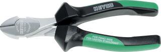 HEYCO Pince coupante, longueur: 160 mm, vert/noir