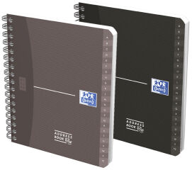 Oxford Carnet d'adresses, 120 x 148 mm, 160 pages, assorti