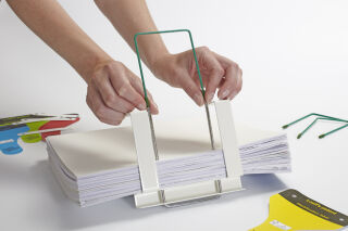 Loeff's patent Relieur d'archives Quickbinder standard, vert