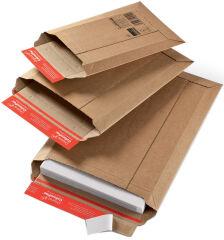 ColomPac OFFICE Pochette d'expédition en carton ondulé brun