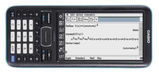 CASIO Calculatrice graphique FX-CP400 (ClassPad II), noir