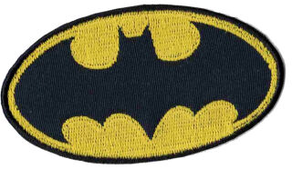 KWM Ecusson thermocollant 'Batman debout'