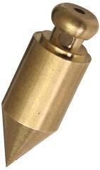 JPC Tête de fil à plomb, forme cylindrique, en laiton