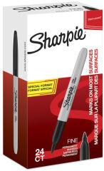 Sharpie Marqueur permanent FINE, Value pack, noir