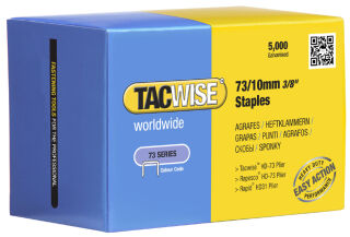TACWISE Agrafes 73/8 mm, acier inoxydable, 5.000 pièces