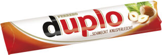 duplo Barre chocolatée, boîte de 10, contenu: 182 g