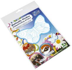 inFO notes Sticker créatif à colorier 'Papillon', 130 x 86mm