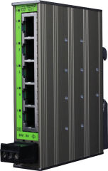 TERZ Unmanaged Industrial Ethernet Switch NITE-RS5-1100