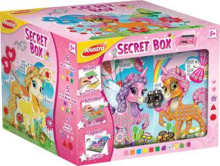 Joustra Kit de loisirs créatifs 'SECRET BOX'
