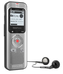 PHILIPS Enregistreur audio DVT2050, mémoire de 8 Go