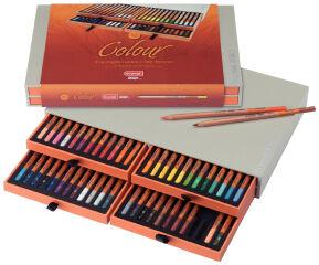 bruynzeel Crayon de couleur design Colour, boîte de 48