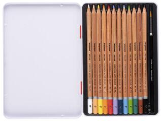 bruynzeel Crayons de couleur aquarelle Expression, étui x12