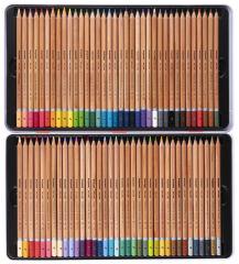 bruynzeel Crayons de couleur Expression, étui en métal de 72