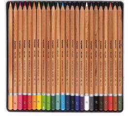 bruynzeel Crayons de couleur Expression, étui en métal de 24