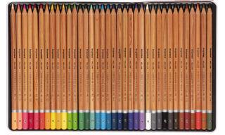bruynzeel Crayons de couleur Expression, étui en métal de 36