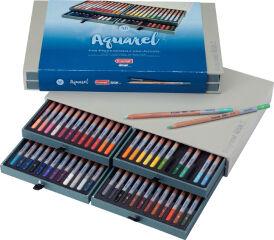 bruynzeel Crayon de couleur aquarelle design Aquarell, x48