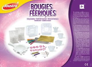 Joustra Kit loisirs créatifs 'Bougies féériques', mallette